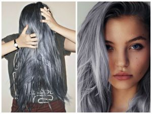 silver hair colors
