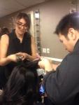 Thank you to the Yoshi Hair Studio Team- Vanessa Ramos