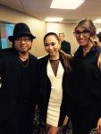 Yoshi with American Idol contestant Jessica Sanchez