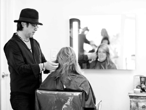 Yoshi Hagiwara Blow Out Class in Beverly Hills
