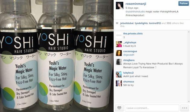 Yoshi Water - Rosemin Manji