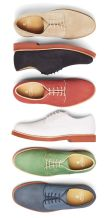 Color is trending with men shoes